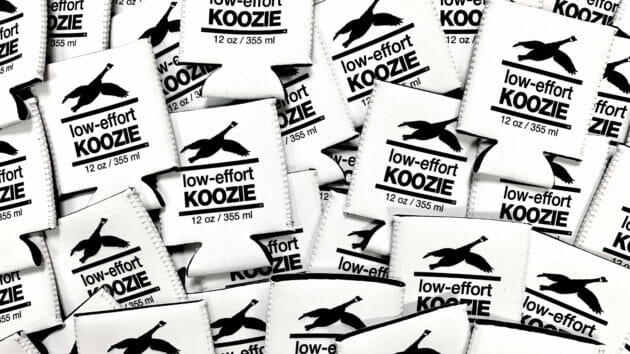 12-oz-Low-effort-Goose-Koozie-Pile - Cropped