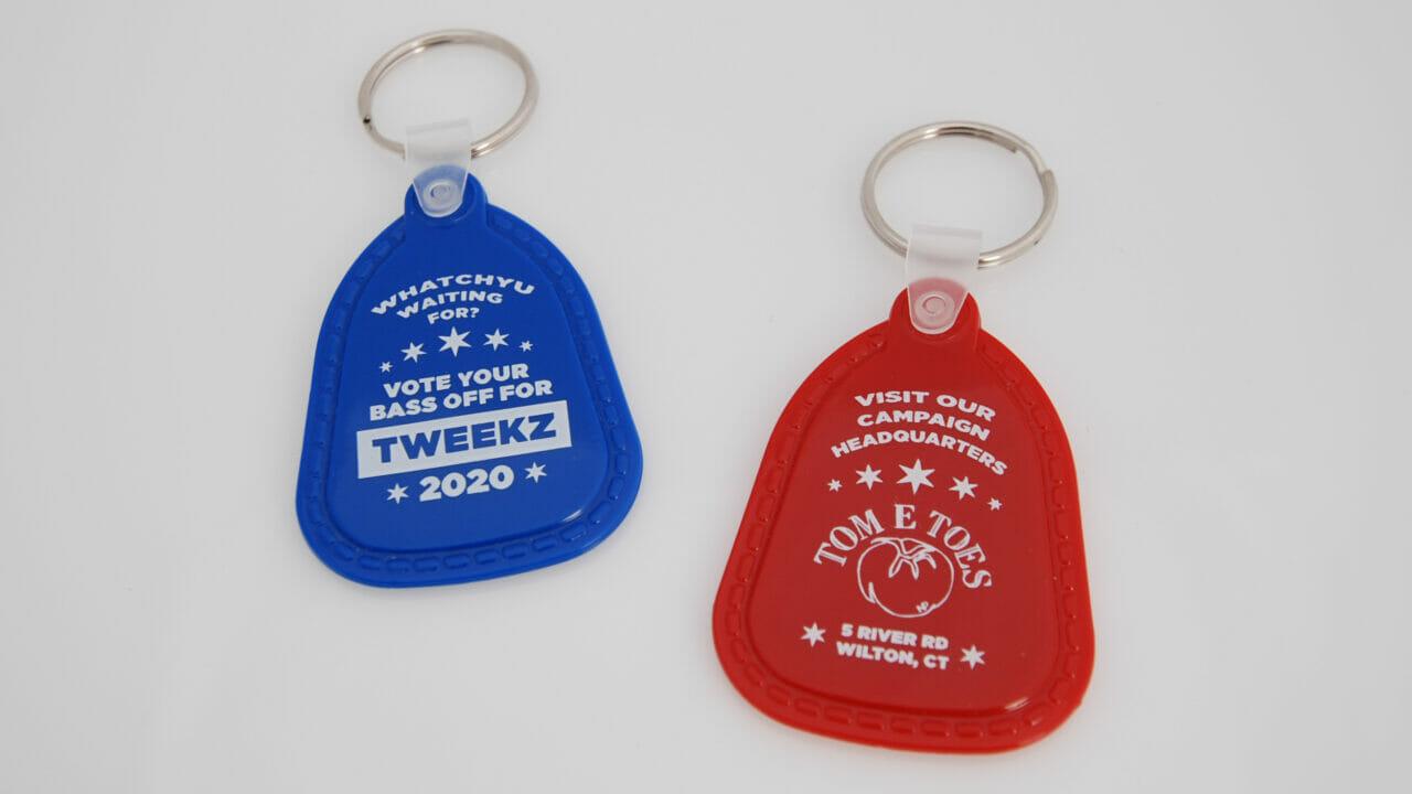 Tweekz 2020 Saddle Tag Keychains Cropped