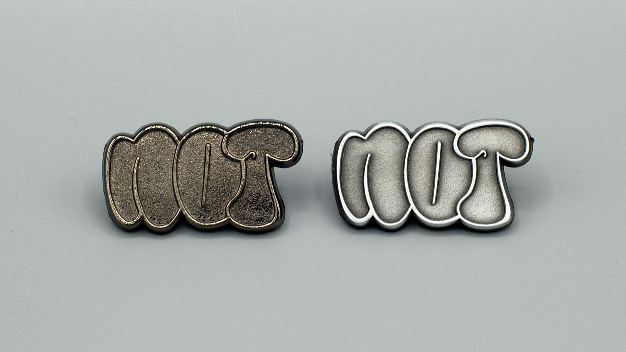 Raw Duo (Black Nickel + Antique Silver)