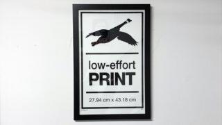NP - 2020 - Goose - Low Effort Goose Print - v004 - 11x17