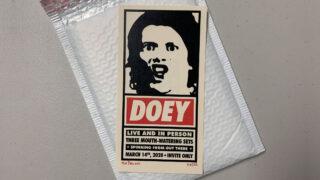 Doey Joey Private Event Handbills - Single - Crop