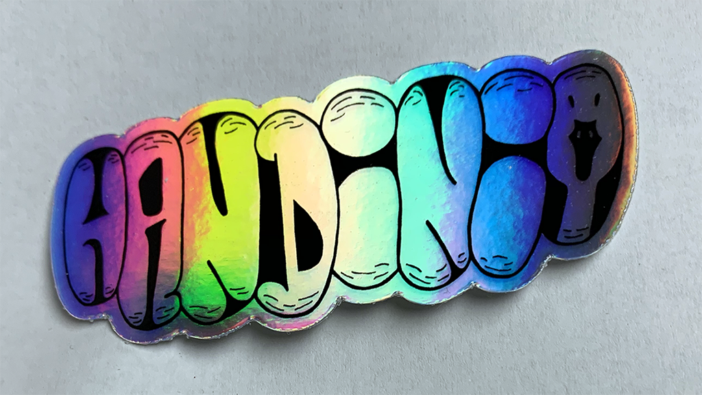 Handini Holoslap Sticker
